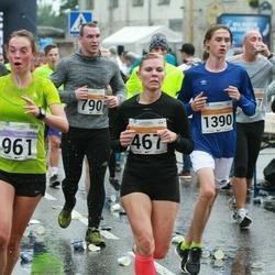 SEB Tallinna Maratoni Sügisjooks 10 km - Evelin Kose (467), Kaili Kuusik (961), Eero Blomster (1390)