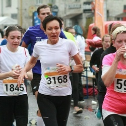 SEB Tallinna Maratoni Sügisjooks 10 km - Päivi Ojakangas (592), Anita Reitere (1845), Krista Bergmann (3168)