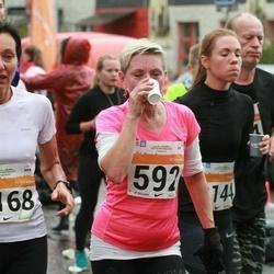 SEB Tallinna Maratoni Sügisjooks 10 km - Päivi Ojakangas (592), Krista Bergmann (3168)