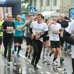 SEB Tallinna Maratoni Sügisjooks 10 km - Armin Tüll (559), Raimonds Jansons (1818), Eliza Tüll (3542), Tarmo Toom (4088)