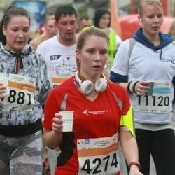 SEB Tallinna Maratoni Sügisjooks 10 km - Anneli Toomsalu (1881), Julija Varušina (4274)