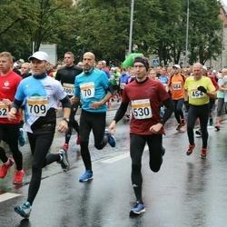 SEB Tallinna Maratoni Sügisjooks 10 km - Andres Voolar (70), Aare Selge (454), Einari Kisel (530), Kalmer Valtin (709)