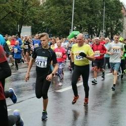 SEB Tallinna Maratoni Sügisjooks 10 km - Aare Selge (454), Sken Selge (591), Aleksander Kaju (971)