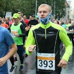 SEB Tallinna Maratoni Sügisjooks 10 km - Vaiko Vare (393), Annely Kaur (477)