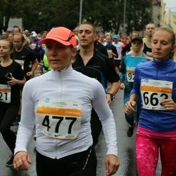 SEB Tallinna Maratoni Sügisjooks 10 km - Annely Kaur (477), Ann Valang (663)