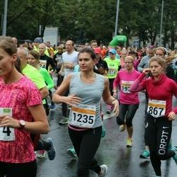 SEB Tallinna Maratoni Sügisjooks 10 km - Linda Sutt (867), Kristiin Jääger (974), Jelena Mäe (1235), Ave Ots (1360)