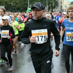 SEB Tallinna Maratoni Sügisjooks 10 km - Aarne Kuusmann (394), Kadri Kööp (1097), Denis Raven (1175)