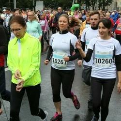 SEB Tallinna Maratoni Sügisjooks 10 km - Anna Grigorjan (10260), Marina Mihhailova (10261)
