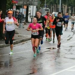 SEB Tallinna Maratoni Sügisjooks 10 km - Liis Elmet (583), Ago Teder (4511)