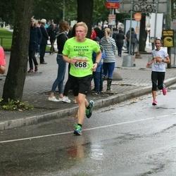 SEB Tallinna Maratoni Sügisjooks 10 km - Frank Johan Ojarand (668)