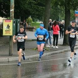 SEB Tallinna Maratoni Sügisjooks 10 km - Allar Läll (177), Sergei Petrov (336)
