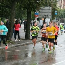 SEB Tallinna Maratoni Sügisjooks 10 km - Madis Rajando (679), Andres Lofitski (861)