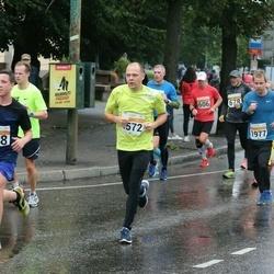 SEB Tallinna Maratoni Sügisjooks 10 km - Kristian Esula (1572), Jürgen Bachmann (1977)