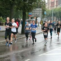 SEB Tallinna Maratoni Sügisjooks 10 km - Aarne Kuusmann (394), Peter Buhr (4558)