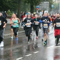 SEB Tallinna Maratoni Sügisjooks 10 km - Risto Laidla (3656), Aleksei Popov (3660)