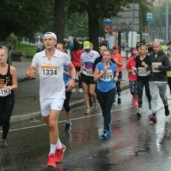 SEB Tallinna Maratoni Sügisjooks 10 km - Heleni Vilbas (1019), Birger Aavik (1334)