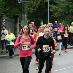 SEB Tallinna Maratoni Sügisjooks 10 km - Aarne Neimann (2904), Darja Kurganova (3215)