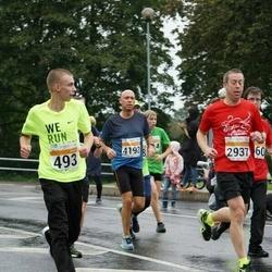 SEB Tallinna Maratoni Sügisjooks 10 km - Rainer Eha (493), Mait Balitski (4192)
