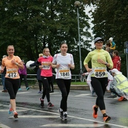 SEB Tallinna Maratoni Sügisjooks 10 km - Epp Vaiklo (859), Anita Reitere (1845)