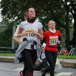 SEB Tallinna Maratoni Sügisjooks 10 km - Irina Leontšik (1101), Heneli Saulep (3913)