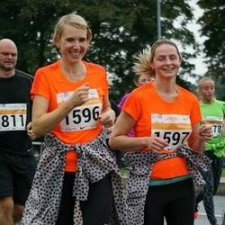SEB Tallinna Maratoni Sügisjooks 10 km - Age Adler (1596), Monika Vessmann (1597)