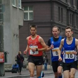 SEB Tallinna Maratoni Sügisjooks 10 km - Mart Andresson (8), Karel Hussar (9), Leonid Latsepov (10)