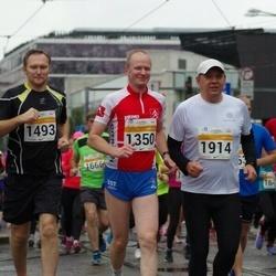 SEB Tallinna Maratoni Sügisjooks 10 km - Margus Andresson (1350), Toomas Sert (1493), Kristjan Kivipalu (1914)