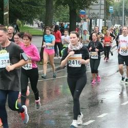 SEB Tallinna Maratoni Sügisjooks 10 km - Aare Treier (450), Mairi Staškevitš (2416)