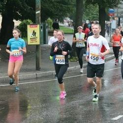 SEB Tallinna Maratoni Sügisjooks 10 km - Hannes Allikvee (269), Aare Treier (450), Aleksandra Dobrõnina (1458), Birgit Balitski (4117)