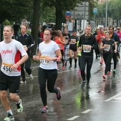 SEB Tallinna Maratoni Sügisjooks 10 km - Aare Treier (450), Indrek Vodja (2635), Fanni Lehto (3933)