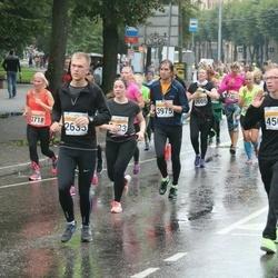 SEB Tallinna Maratoni Sügisjooks 10 km - Indrek Vodja (2635), Eve Veedla (2718), Olavi Kask (3975), Alex Hrustov (4503)