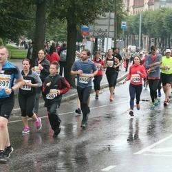 SEB Tallinna Maratoni Sügisjooks 10 km - Shannon O'connor (3086), Kristjan Vallimäe (3397), Helen Hanimägi (4463), Arno Dae (4568), Kirill Melesin (9281)
