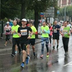 SEB Tallinna Maratoni Sügisjooks 10 km - Kristjan Arro (382), Vello Laas (3134), Merje Aros (3406)