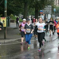 SEB Tallinna Maratoni Sügisjooks 10 km - Kairi Kaldur (2853), Karolin Varik (2856)