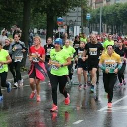 SEB Tallinna Maratoni Sügisjooks 10 km - Vilma Trummal (2409), Monika Kukkonen (2432)