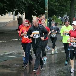 SEB Tallinna Maratoni Sügisjooks 10 km - Brandy Fagan (885), Kristina Liivat (4242), Sergei Malosh (4243)