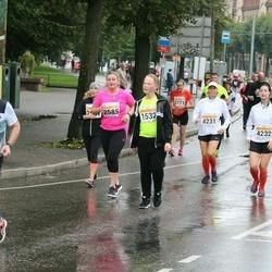 SEB Tallinna Maratoni Sügisjooks 10 km - Mart-Jürgen Kukermaa (1532), Ulla Parelo (4231), Marina Doroshenko (4232)