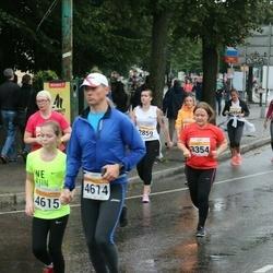 SEB Tallinna Maratoni Sügisjooks 10 km - Lylian Lukki-Lukin (3354), Aleksei Vorontsov (4614), Maria Vorontsova (4615)