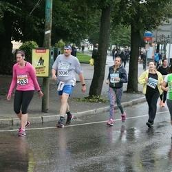SEB Tallinna Maratoni Sügisjooks 10 km - Michele Buckley (203), Marina Orlova (3918), Gunnar Võrno (5036), Anna Sitnikova (11388)