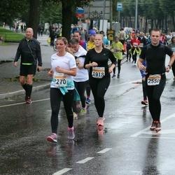SEB Tallinna Maratoni Sügisjooks 10 km - Diana Aus (1918), Aire Eensalu (2270), Rando Luhaorg (2550)