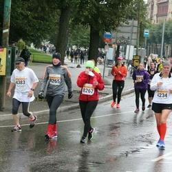 SEB Tallinna Maratoni Sügisjooks 10 km - Anna Terpitskaja (4233), Eva Rauert (4234), Heikki Jokinen (4383), Silva Saaliste (8265), Helen Hiiemäe (8267)