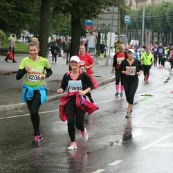 SEB Tallinna Maratoni Sügisjooks 10 km - Natalia Družinina (3206), Ivi Luts (11605)