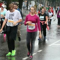 SEB Tallinna Maratoni Sügisjooks 10 km - Bogdan Seljanko (2217), Anissia Meškova (3781)