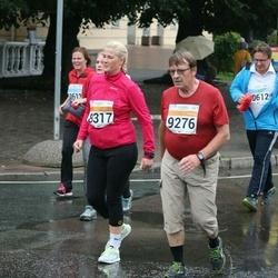 SEB Tallinna Maratoni Sügisjooks 10 km - Kirke Williamson (8317), Ari Hiltunen (9276)