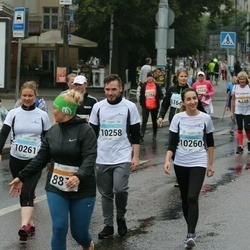 SEB Tallinna Maratoni Sügisjooks 10 km - Aleksandr Sergunin (10258), Anna Grigorjan (10260), Marina Mihhailova (10261)