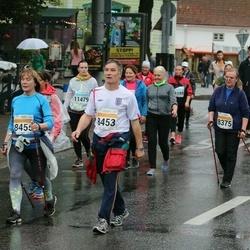 SEB Tallinna Maratoni Sügisjooks 10 km - Ülle Gretškov (8375), Olev Nirk (8453), Kaie Valter (8455)