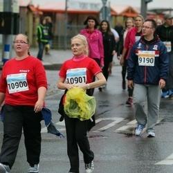 SEB Tallinna Maratoni Sügisjooks 10 km - Tatjana Šinalskaja (9190), Raili Müür (10900), Marge Mölder (10901)