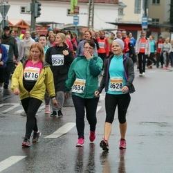 SEB Tallinna Maratoni Sügisjooks 10 km - Erika Raado (8628), Maarika Kulešas (8634), Siiri Kase (8716)