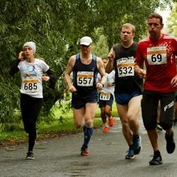SEB Tallinna Maratoni Sügisjooks 10 km - Roman Melnikov (69), Lauri Pihlak (532), Kaido Plovits (557), Anastasia Sakova (685)