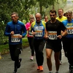 SEB Tallinna Maratoni Sügisjooks 10 km - Aleksei Rolitš (2778), Grigorev Ivan (4189), Boriss Burkov (4593)